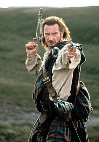 ROB ROY, Liam Neeson, 1995