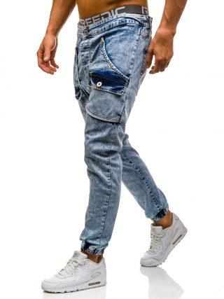 Voll im Normcore-Trend Jeanshose mit großen Taschen aus der Bolf-Kollektion